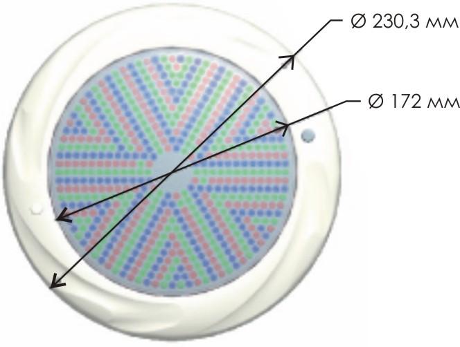 Схема прожектора светодиодного